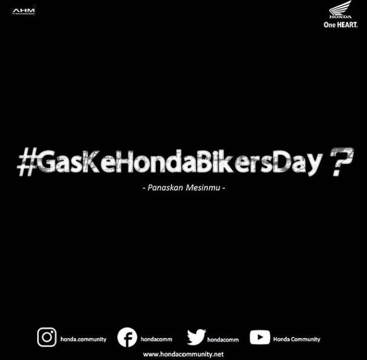 Cari_Aman Gas Ke Honda Bikers Day