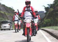 Plus Minus Honda CRF150L