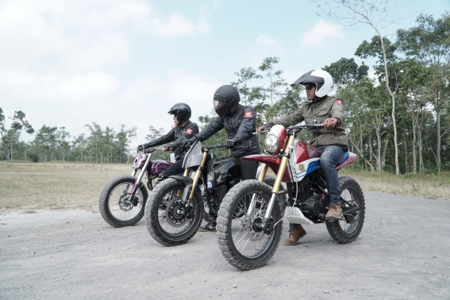 Honda CRF150L Modifikasi Hasil Honda Dream Ride