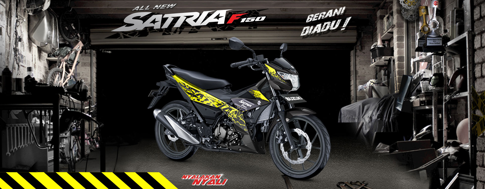 All New Satria F150 2018